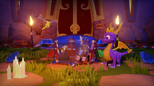 October Evening - Spyro Reignited Trilogy Tribute