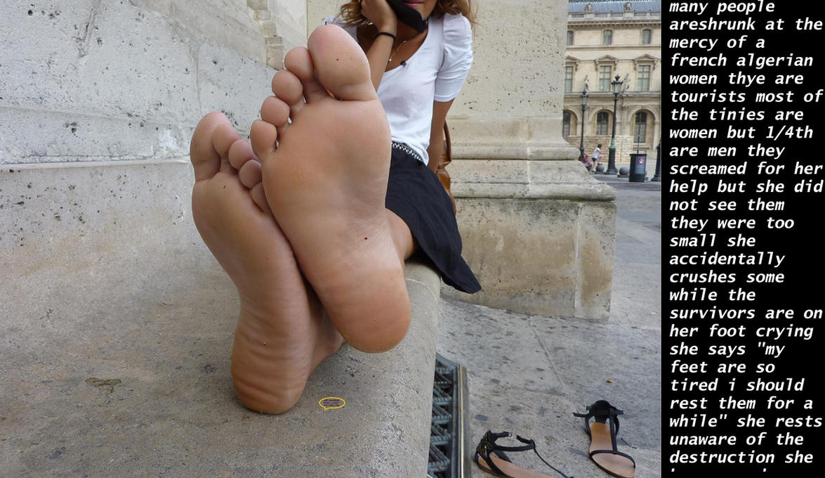 algerian giantess by Mahier