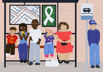 Lung Cancer Awareness 2017 by SECRET-NINJA-SUPER-M