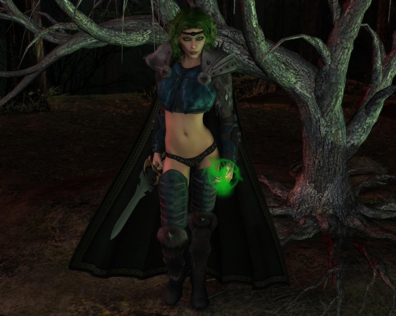 Elf games sexyorcs nude video