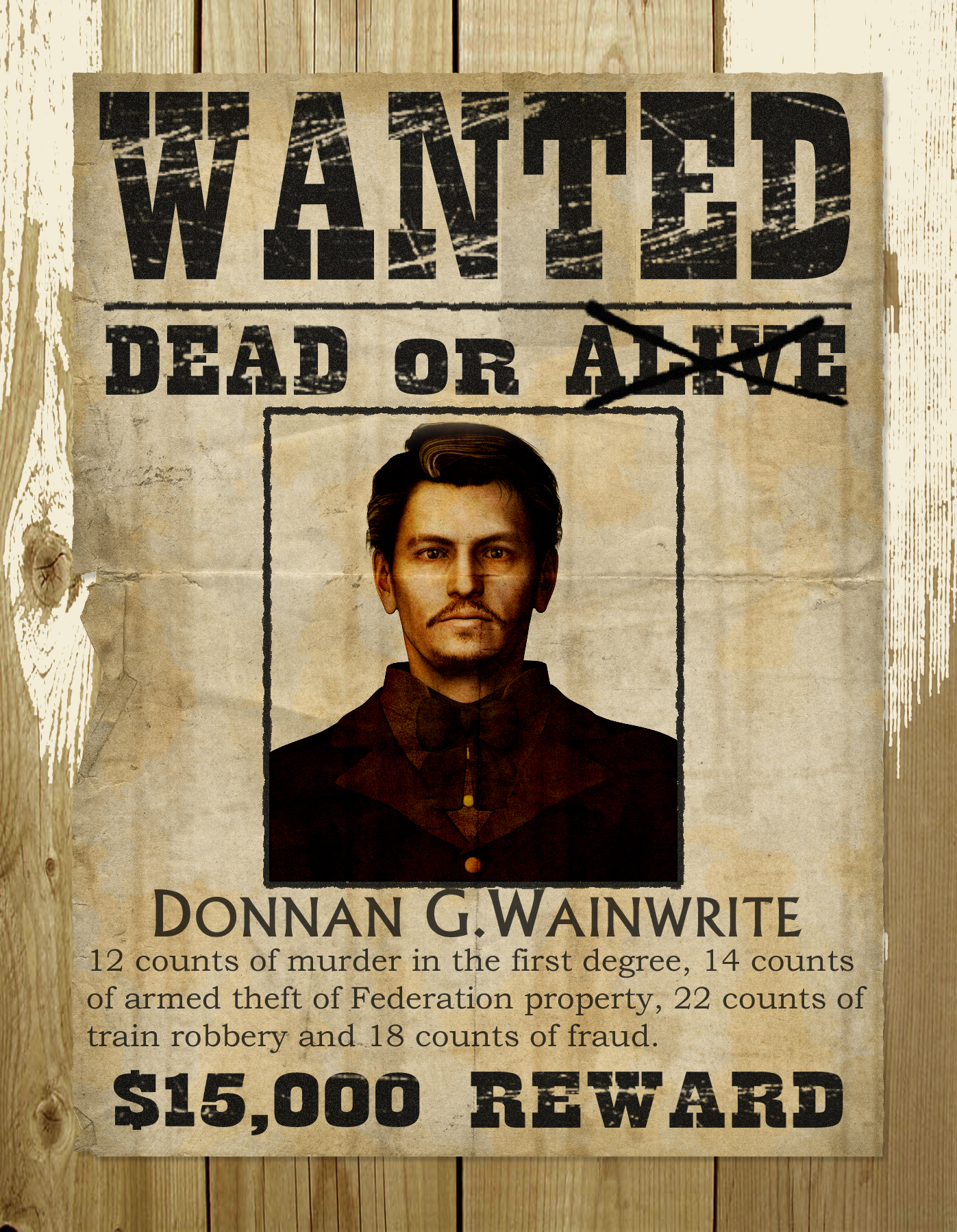 Wanted poster by PDSmith on DeviantArt