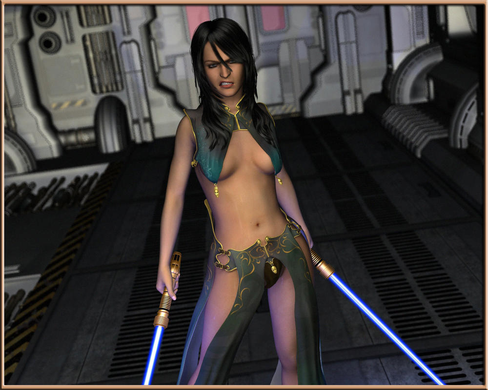 Naked Female Jedi 2