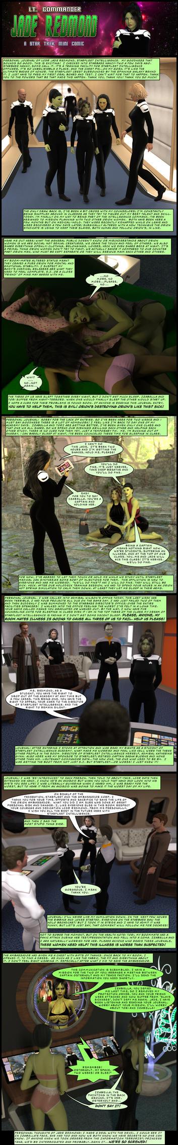 Adventures of Jade Redmond III by PDSmith