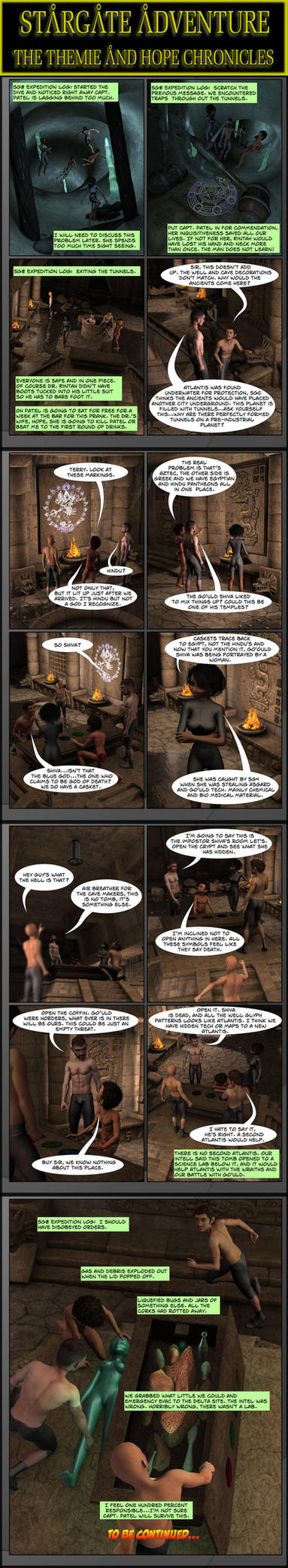 Stargate - Blood Virus 2nd strip by PDSmith