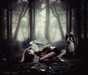 Broken Angel by Dyn by SpaceDynArtwork