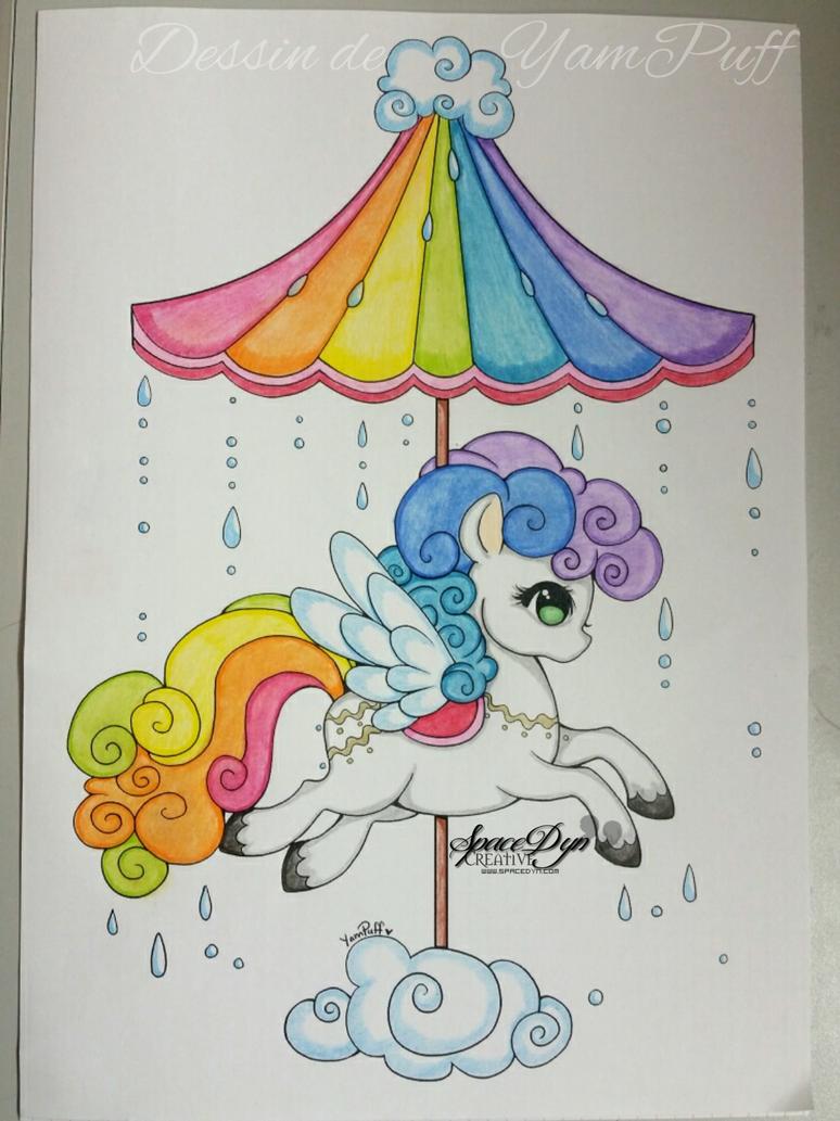 Pony Chamallow Rainbow by SpaceDynArtwork