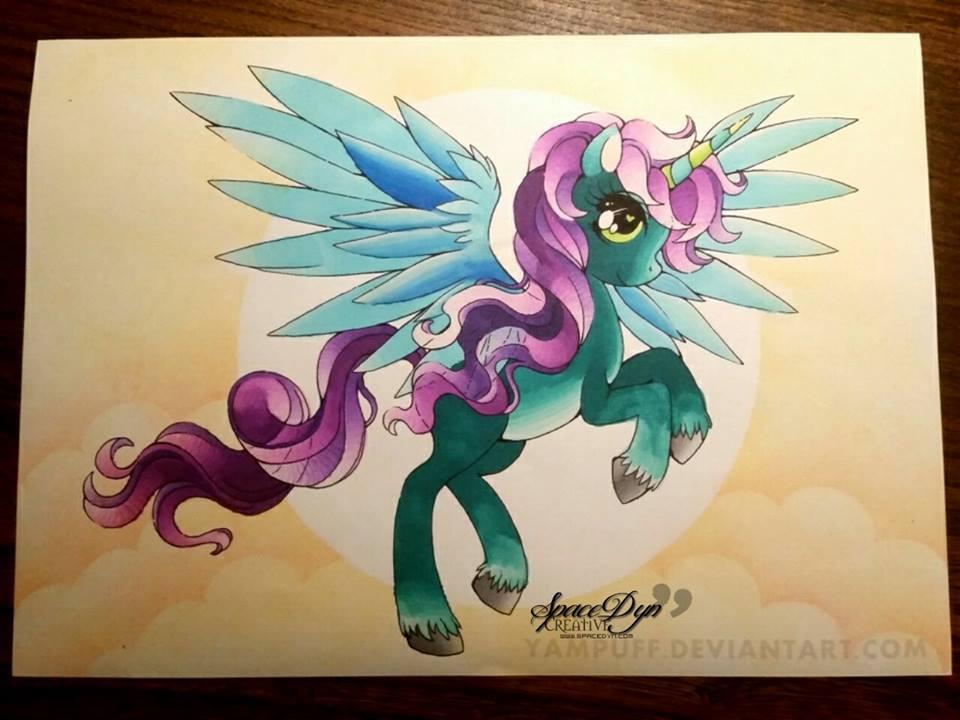 Pony of Yampuff by SpaceDynArtwork