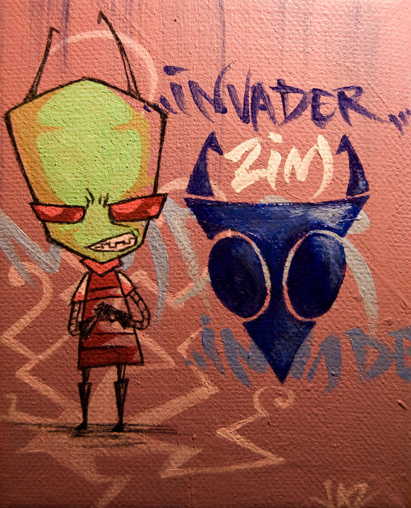 Invader Zim by zylanthe