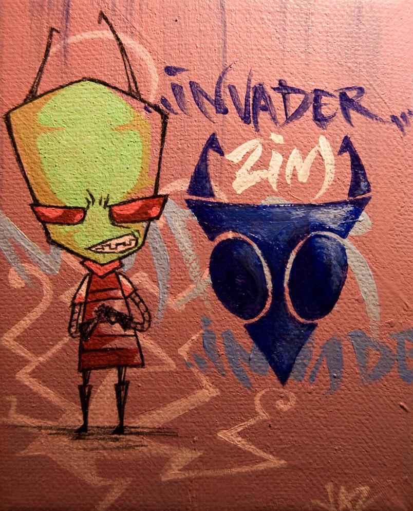 Invader Zim by zylanthe