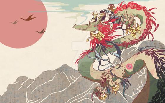 Mountainside Dragon