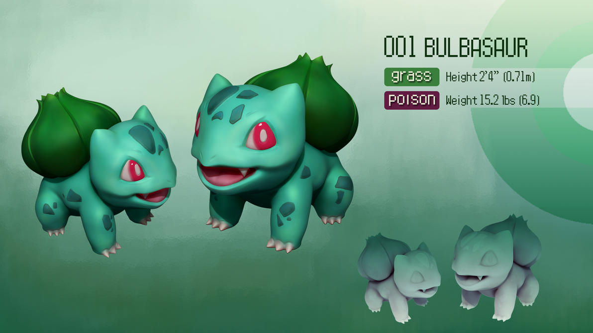 Bulbasaur by ppoznysz
