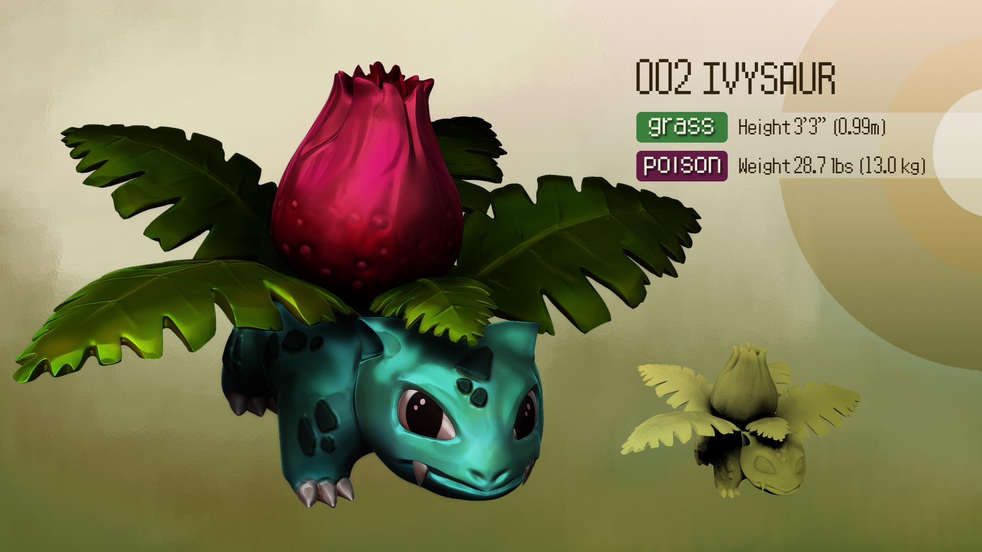 Ivysaur by ppoznysz