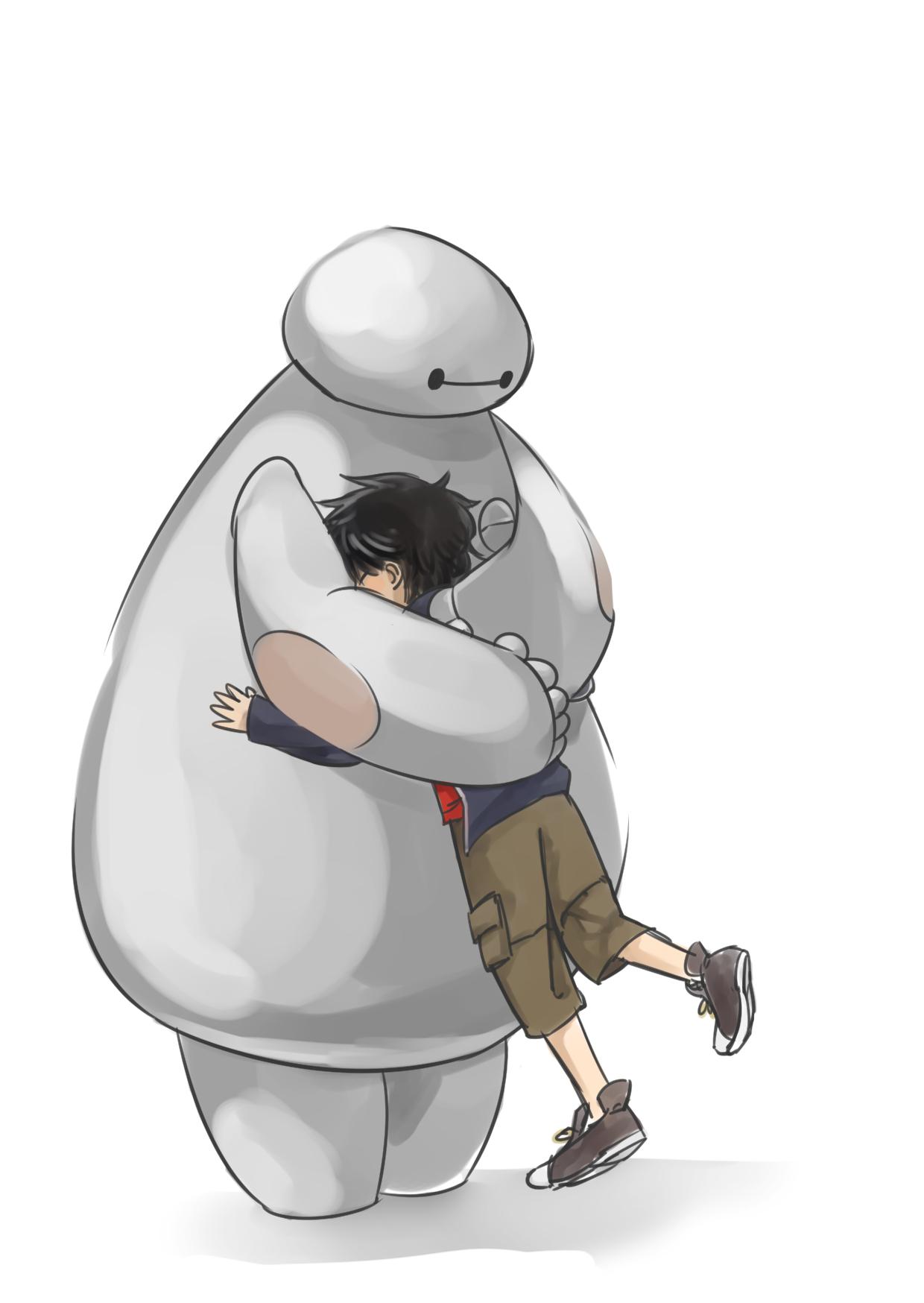 BIG HIRO HUG by nojaloid