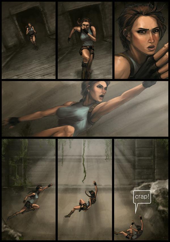 Lara croft art sex