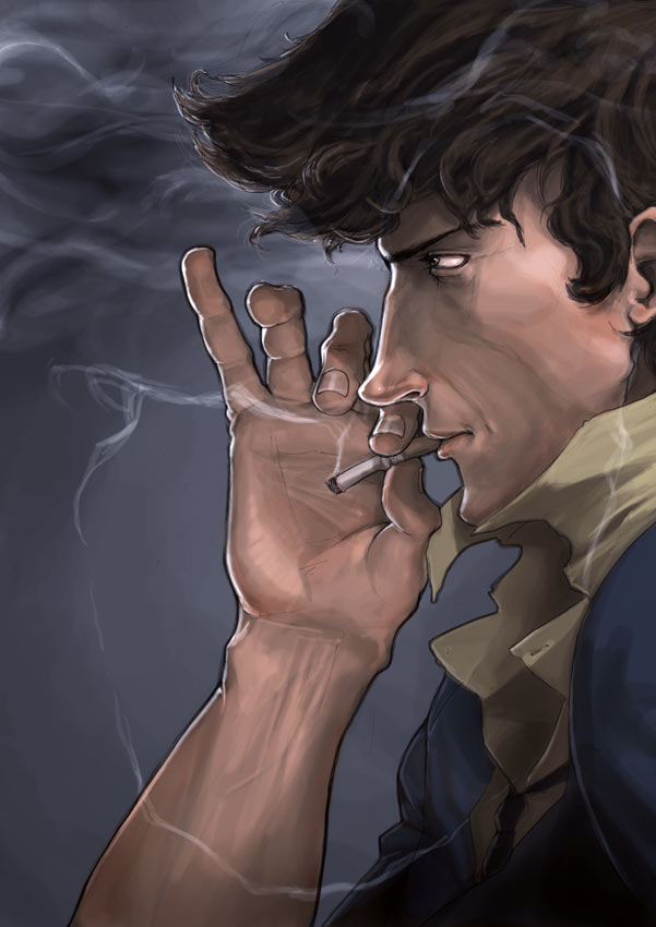 Anime Characters Smoking : Coolest anime smoking character s naruto forums