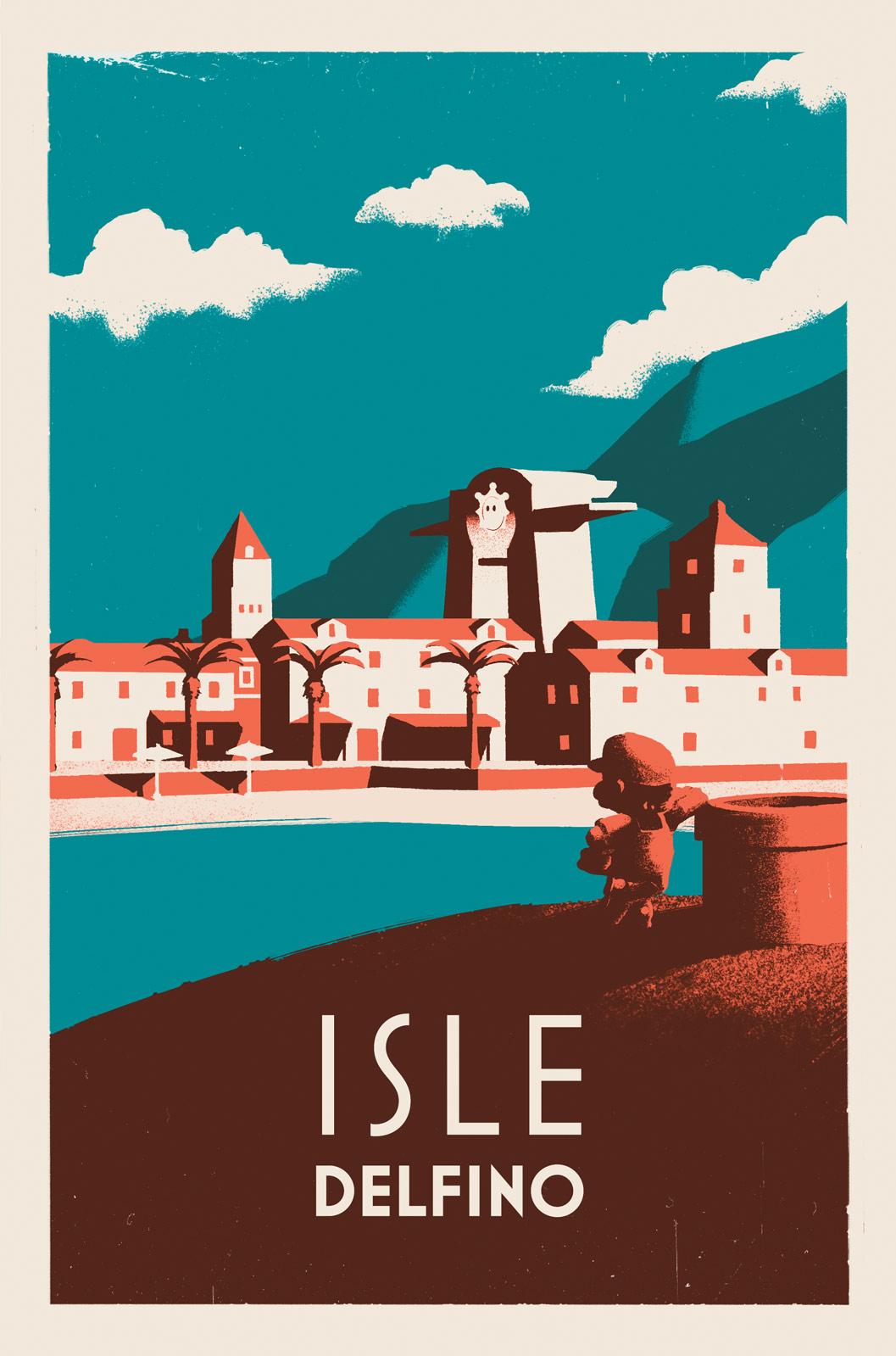 Isle Delfino by 2dforever
