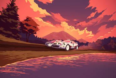 Sega Rally Championship by 2dforever