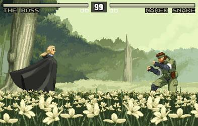 Snake Eater PixelArt by 2dforever