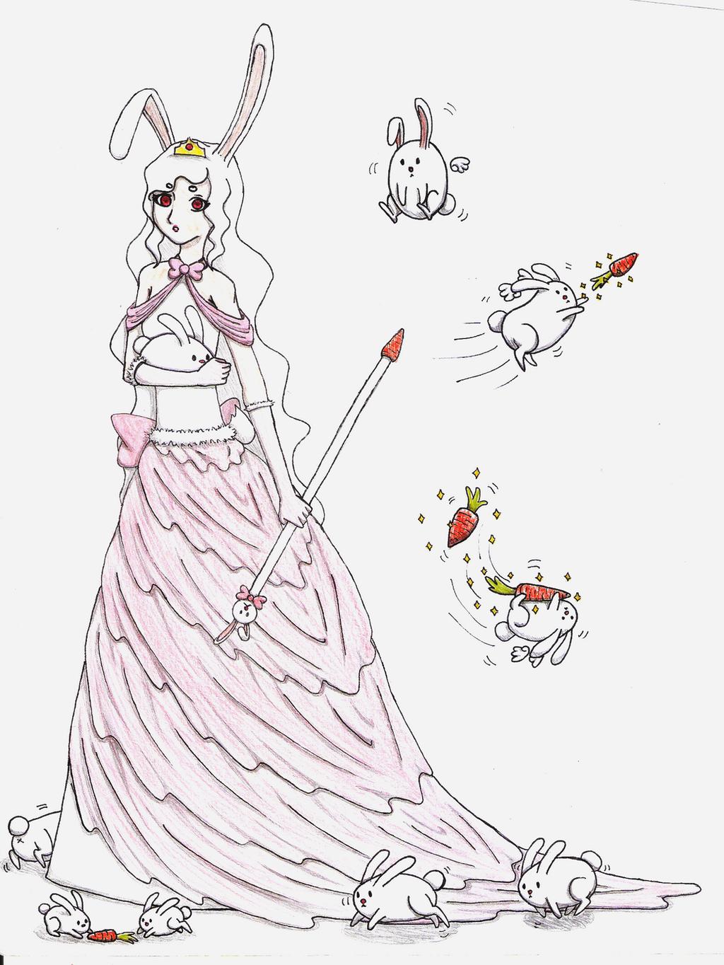 Bunny Goddess of Kawaii Supremacy by Psychotic--Muffin