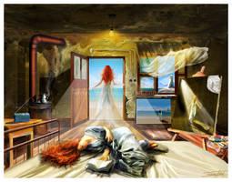 In dreams..