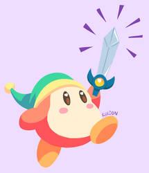 baby got a sword