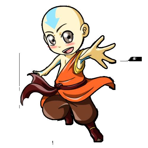 Avatar Aang by kirin-48