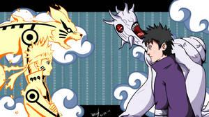 Naruto Vs Obito