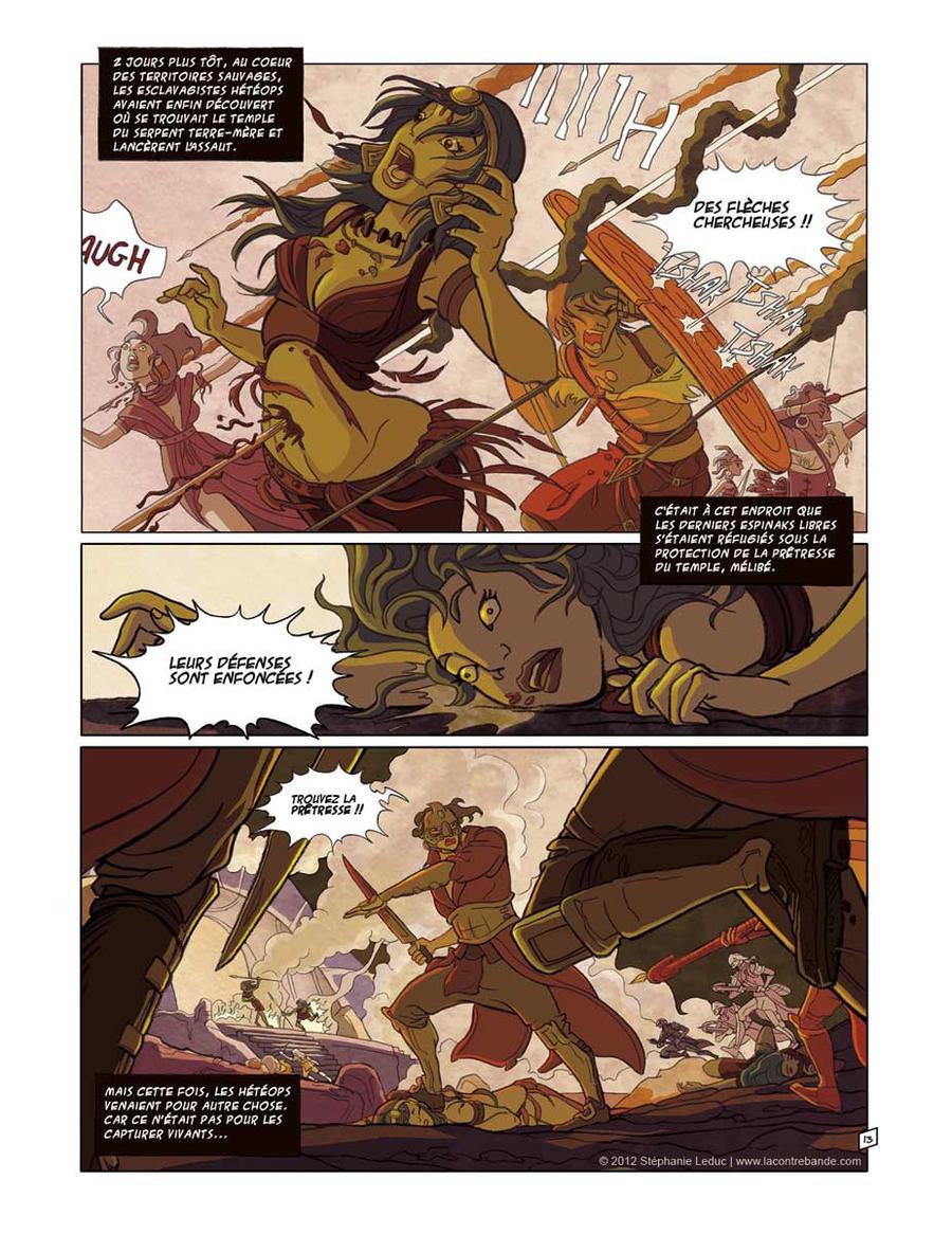 P.13 Land without gods (La Terre sans dieux) by StphanieLeduc