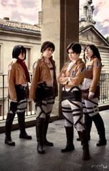 Shingeki no kyojin cosplay 1