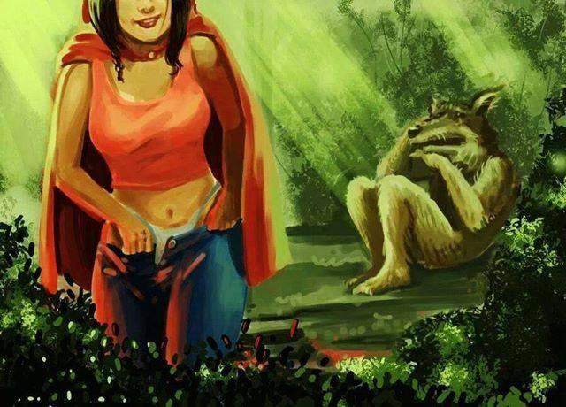 Mala Caperucita Roja By HectorLobo On DeviantArt