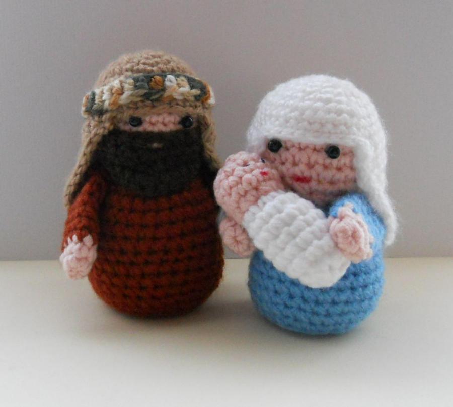 Amigurumi Nativity by sophiecat91 on DeviantArt