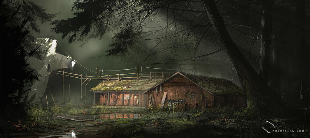 Forest house by ArtofSerg