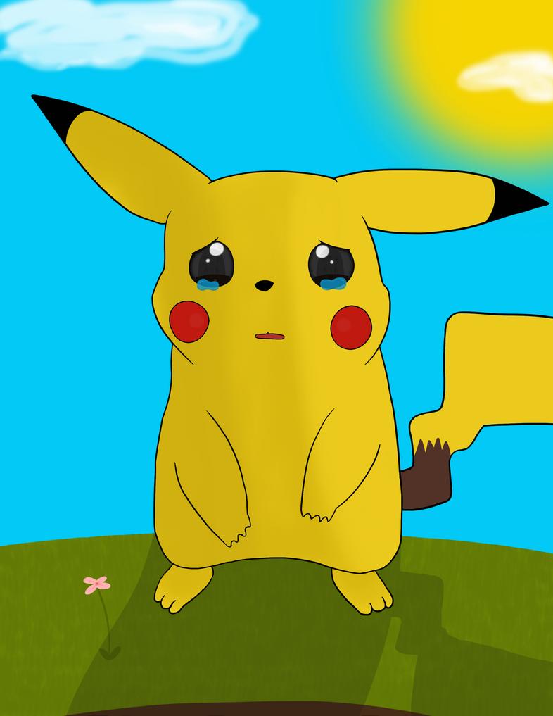 Sad Pikachu by Gamoray on DeviantArt