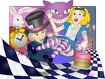 Alice Goes down the Rabbit Hol