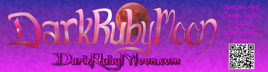 DarkRubyMoon Store Banner