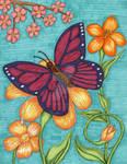 Butterfly by DarkRubyMoon