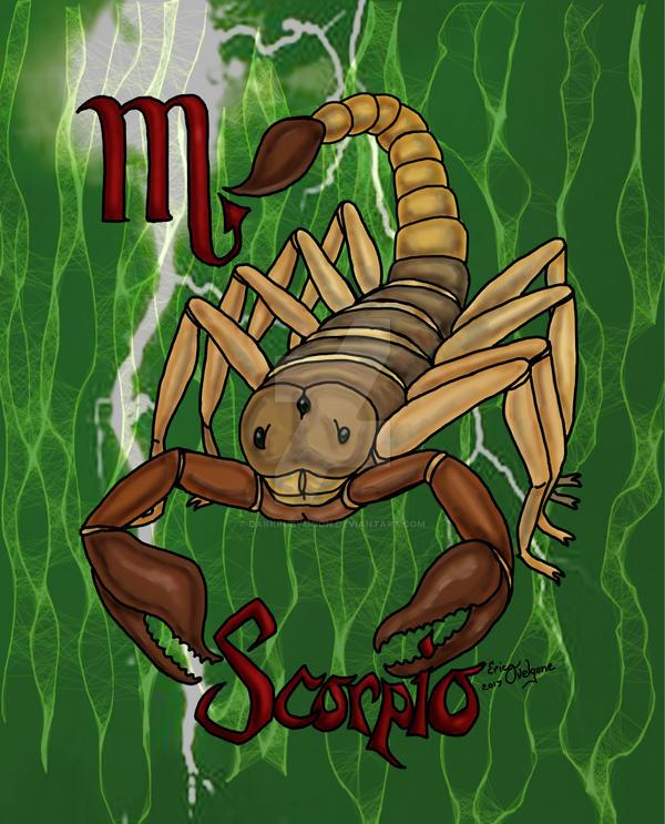 Scorpio by DarkRubyMoon