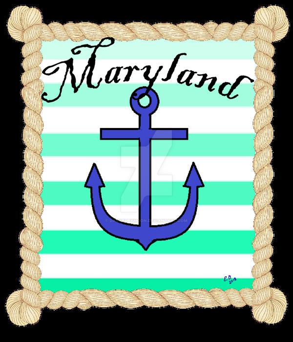 Anchor Maryland by DarkRubyMoon