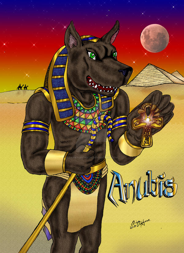 Anubis by DarkRubyMoon