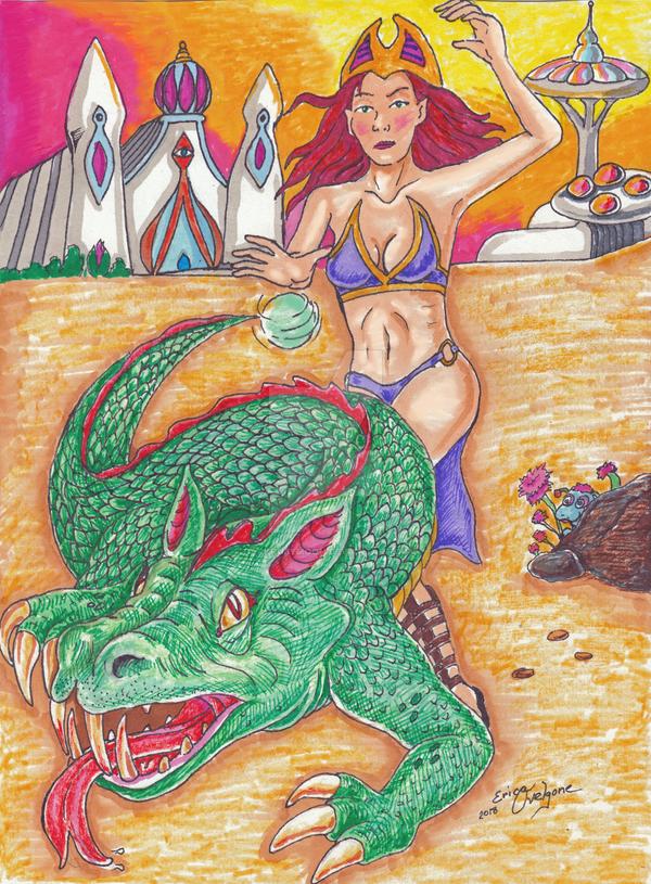 Dragon Spell by DarkRubyMoon