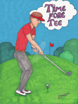 Golf Time Fore Tee