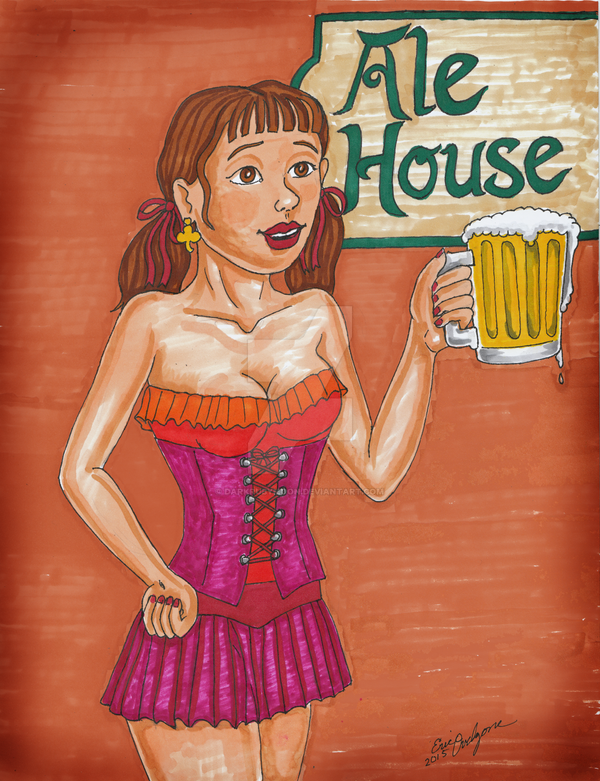 Ale House by DarkRubyMoon