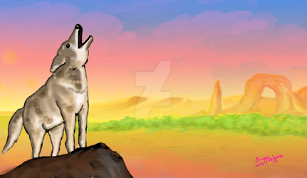 Coyote Sunset Version3