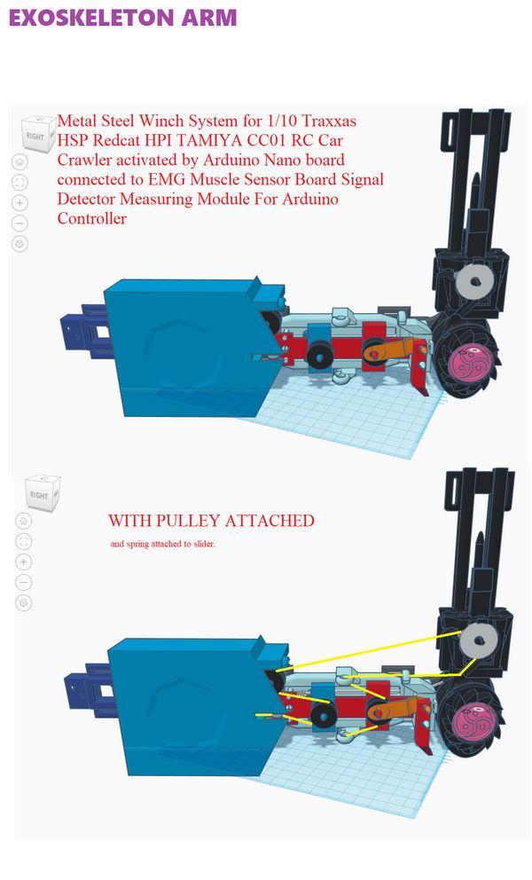 Exoskeleton arm design