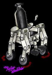 Wheelchair concept  theSpider
