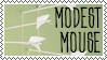 Modest Mouse Stamp 1 by aunt-arctica