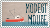 Modest Mouse Stamp 3 by aunt-arctica