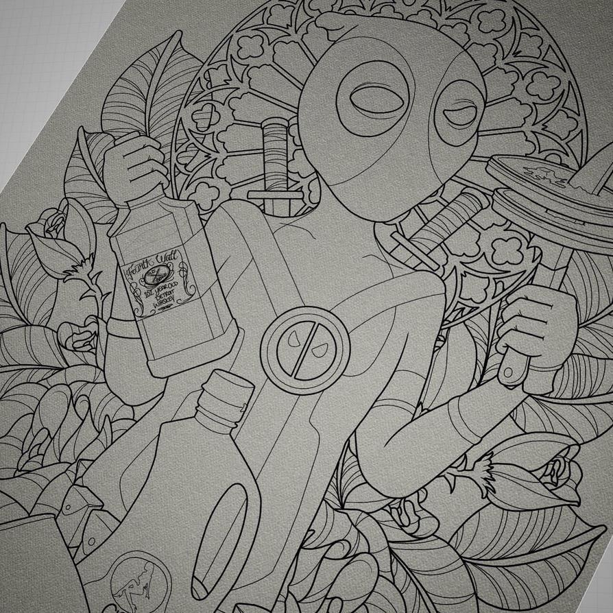 W.I.P. Lord  Savior Deadpool  by BlaqkMagik