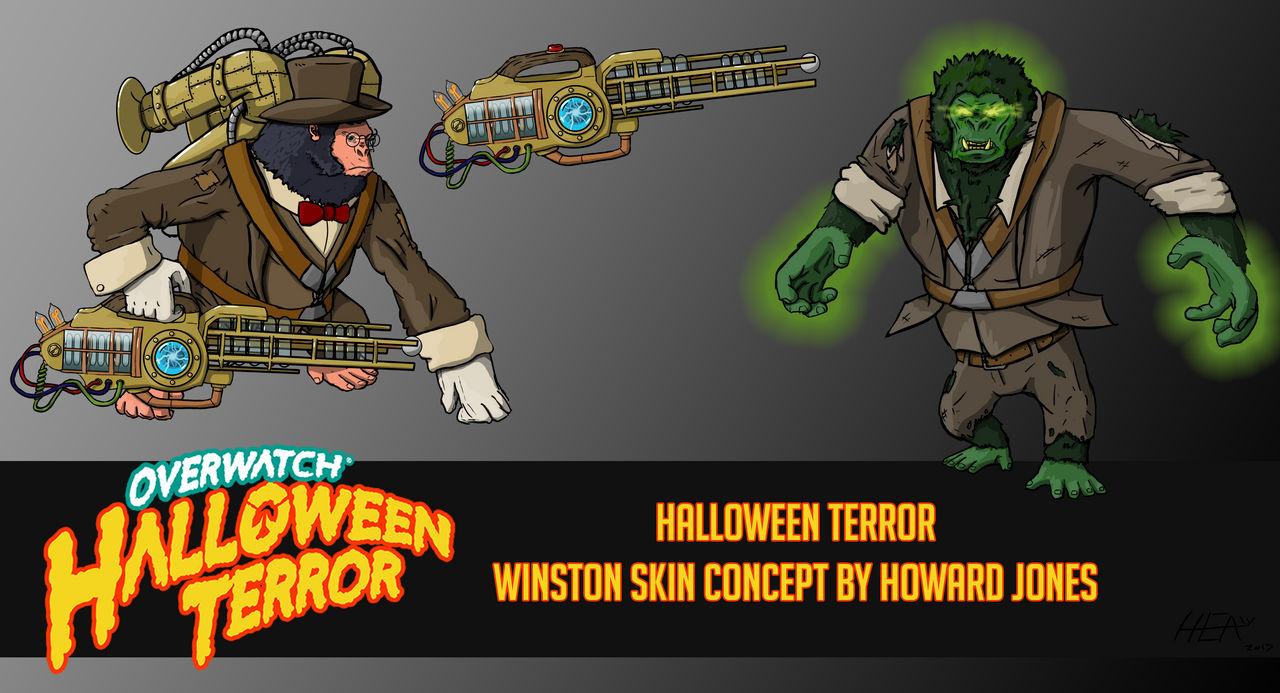 Winston Christmas Skin.Winston Dr Jekyll Halloween Skin Concept By Howardjones1388