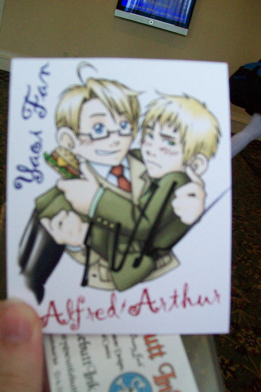 Eric Vale approves of UK x US by American-Anime on DeviantArt